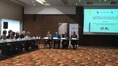 Okrugli sto – unaprjeđenje izvršnog postupka u BiH