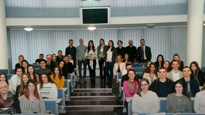 The Global Money Week Marked With The Debate Of The High School Pupils At The CBBH