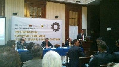 """Međunarodna konferencija """"Implementacija europskih standarda u snabdijevanju i zaštiti gotovine"""""""