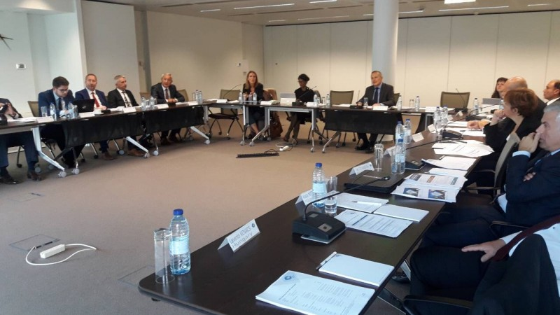 CEO of Banking Association of Bosnia and Herzegovina, Berislav Kutle, attends the 47th EBF Associates' meeting at the EBF premises in Brussels.